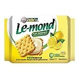 Julie's Le-mond Cream Puff Sandwich (628MART) (Le-mond Lemon Flavoured, 90 Convi-Packs)