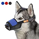Soft Dog Muzzle Cover with Dogs Hook & Loop for