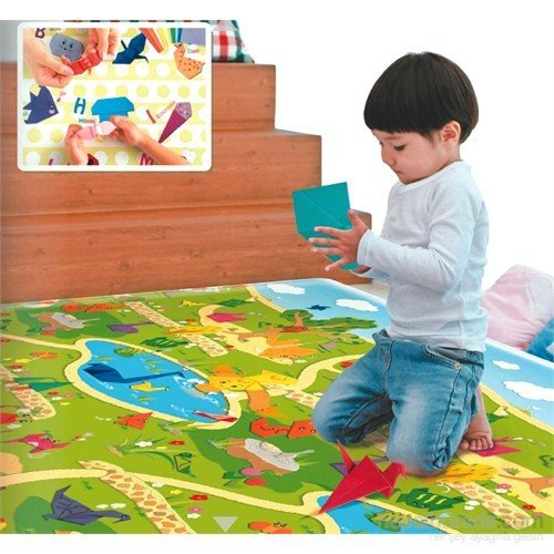 Serra Baby Amazing Origami Game Mat 230x140cm, thickness 15mm by Serra Baby