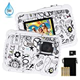 Kids Waterproof Camera, DECOMEN Digital Underwater Camera for Boys and Girls, 12MP HD