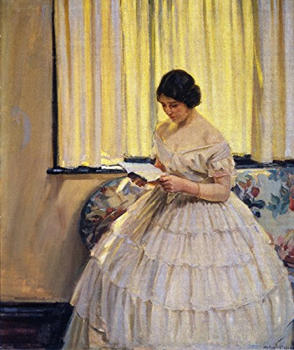 Helen Victorian Print - The Victorian Dress - By Helen Galloway Mcnicoll - Canvas Prints 20