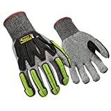 Ringers Gloves 060 R-Flex Impact, Light Duty Impact Glove, Durable and Breathable Shell, CE Level 5 Cut Protection, Medium