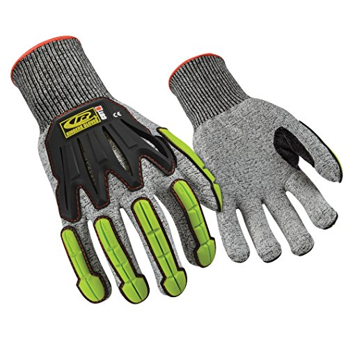 Ringers Gloves 060 R-Flex Impact, Light Duty Impact Glove, Durable and Breathable Shell, CE Level 5 Cut Protection, (Ringers Impact Gloves)