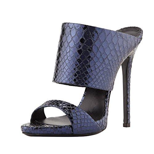 FSJ Women Versatile Open Toe Mule Shoes Feminine Slingbac...
