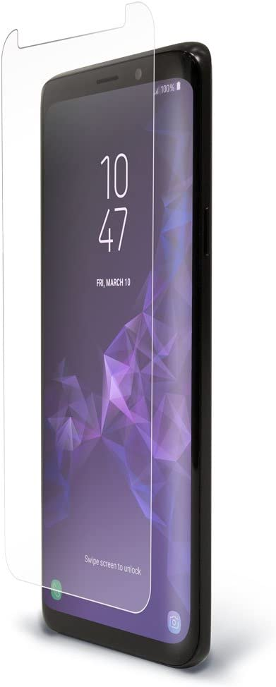 UltraTough Clear Screen Protector Cover for Samsung Galaxy S9+ Crystal Clear Anti-Microbial Screen Protection for Galaxy S9+ BodyGuardz