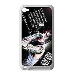 Customized iPod Case Deathcore Band Suicide Silence Printed Laser Rubber iPod Touch 4th Case Cover by runtopwell