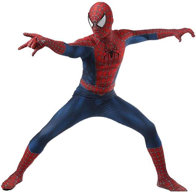 Amazon.com: LuckB - Disfraz de superhéroe de licra para ...