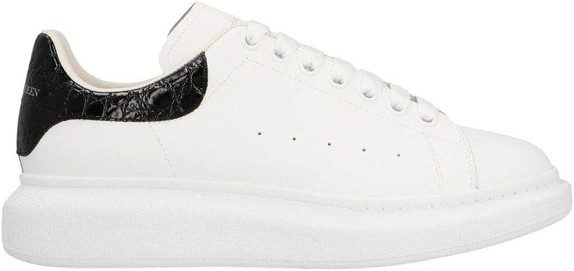 Alexander mcqueen luxury fashion uomo bianco pelle sneakers | autunno-inverno 20