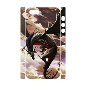 ALICASE Diy Customized Case Dragon 3D Case for iPhone 5,5S [Pattern-1]