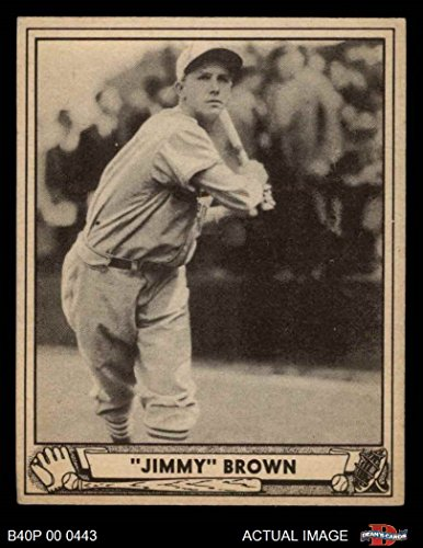 Jimmy Brown St. Louis Cardinals (Baseball Card) Dean's Cards 5 - EX Cardinals (1940 Baseball)