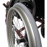 Karman Anti Tippers for S-305 Series Ergonomic Wheelchair, Black