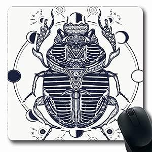 Luancrop Alfombrillas Egipto Egipcio Escarabajo Faraón Dioses Ra ...