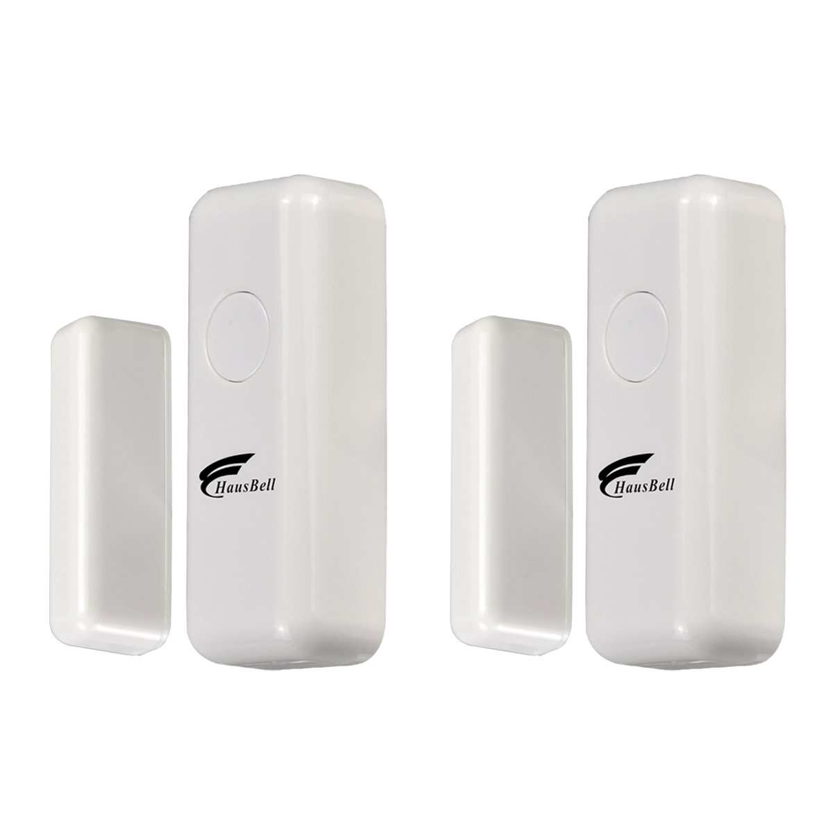 HAUSBELL Alarm System 2 Pack Contact Sensor,Home Security System,3G & WiFi 2in1 Wireless Smart GSM Security Alarm,only 2 Pack Contact Sensor