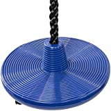 """Tree Swing Disc Rope Swing - with Leg Safety Protector & 1"""" Heavy Duty Rope"""