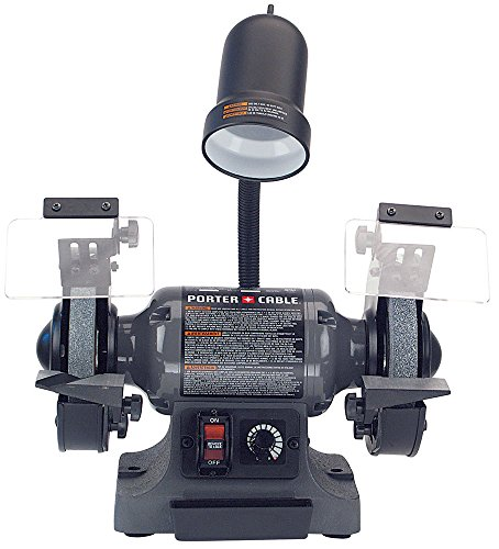 Porter Cable Pcb525bg 6 Quot Variable Speed Bench Grinder With
