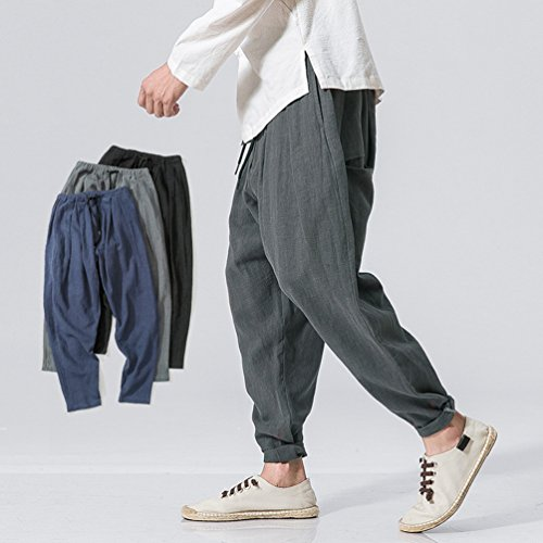 7915b3cde1 De Plage D'été Hommes Respirant Pantalons En Poches Homme Pantalon 2018  Tienew Loisirs Confortable Longueur ...