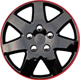 AutoSmart Drive Accessories KT-962-15IB+R, Toyota Paseo, 15'' Ice Black Replica Wheel Cover, (Set of 4)