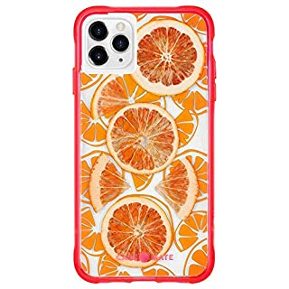 Case-Mate - iPhone 11 Pro Max Case - Tough Juice - Made with Real Fruit - 6.5 - Fresh Citrus (CM039560)