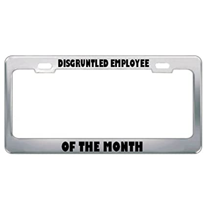Amazon.com: Disgruntled Employee Of The Month Work License Plate ...