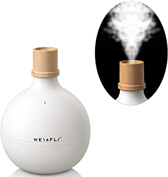Usb Humidifier 300 Ml Mini Ultrasonic Air Humidifier Ultra Quiet 20 Db Room Humidifier 5 8 Hours Continuous Use Automatic Shut Off Portable Humidifier For Home Yoga Office Amazon De Home Kitchen