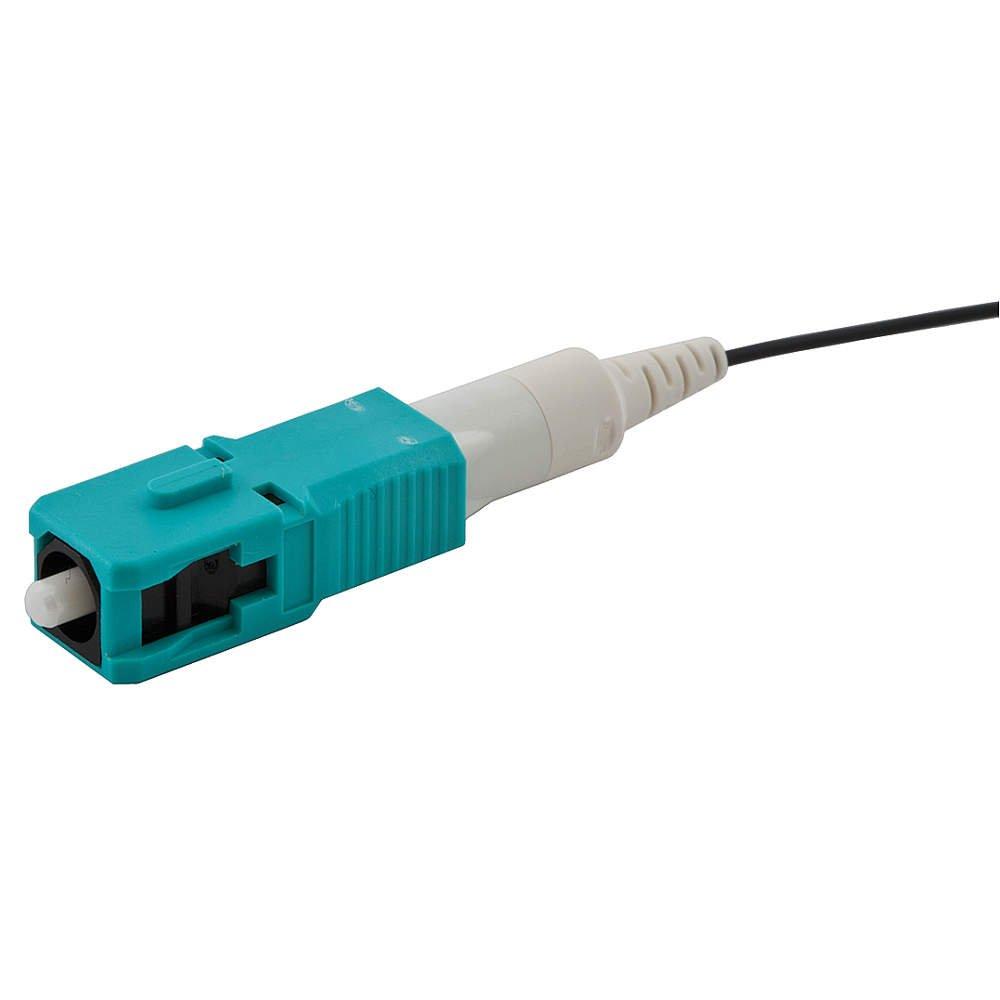 Hubbell FCSC900K50GM12, Fiber Connector, 50 UM, OM3, SC, 12 Pack