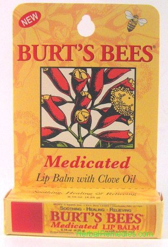 Burts Bees Medicated Lip Balm product image