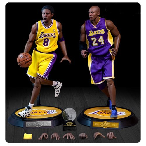 Kobe Bryant Mvp Trophy (Enterbay Kobe Bryant Real Masterpiece Action Figure (2 Pack))