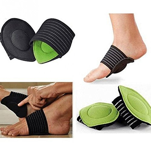 Healthy Food - 1 Pair Foot Insoles Arch Support Plantar Fasciitis Heel Aid Feet Cushion Fallen Heel Pain Relief Beauty Poduct]()