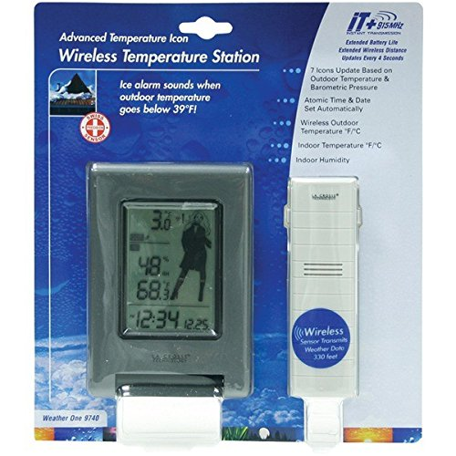 LA CROSSE TECHNOLOGY WS-9740U-IT-NL Wireless Weather Station with Advanced Icons