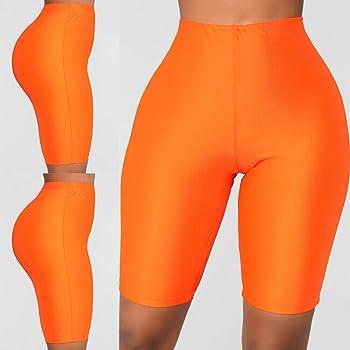 Pantalon De Yoga Corto Mujer Mujer Pantalones Elasticos De Yoga ...