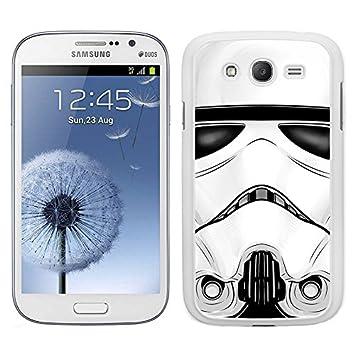 Funda carcasa para Samsung Galaxy Grand NEO Plus cara soldado SW borde blanco