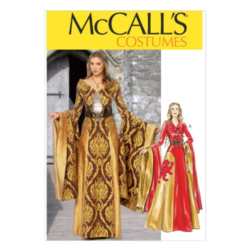 McCall Pattern Company M6940 Misses Dresses and Belts, Size A5 -