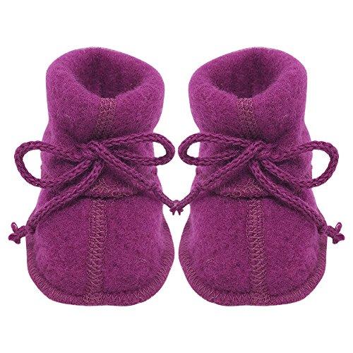 Infant Baby Warm Booties Socks with Ties, Organic Merino Wool Fleece for sale