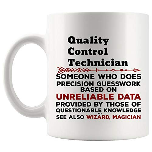 Funny Quality Control Technician Mug Gift - 11Oz Coffee Cup - Best Gifts for Men Women T-Shirt Cups Mugs from WingToday