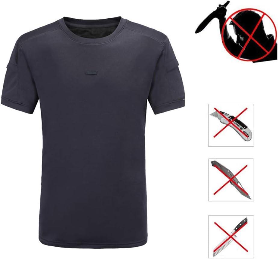 MALY Chaleco táctico Ajustable, Chaleco de Seguridad, Camiseta antipuñaladas Traje ultrafinas Fuerzas Especiales de la Policía de Defensa Inicio Antidisturbios,M: Amazon.es: Hogar