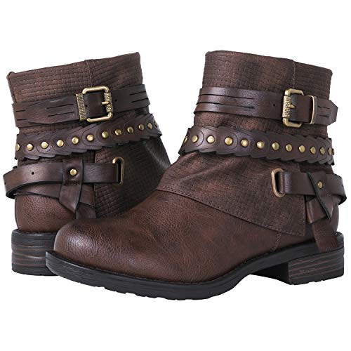 Globalwin Women's 18YY18 Fashion Ankle Boots 18yy18brown