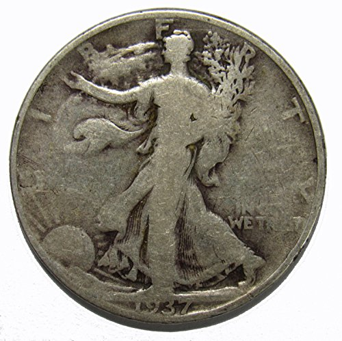 1937 D Walking Liberty Half Dollar 50c Average ()