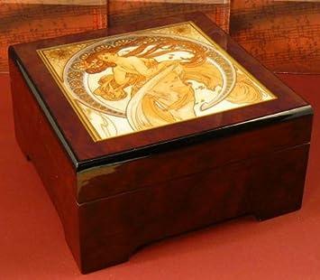 BöHME 892101 - Spieluhr Comfort Frühling - Vivaldi (Spieldosen - Musikdosen - Spieluhren) - das ideale Geschenk