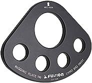 Fusion Climb Aluminum Descender Plate