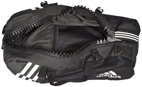 d38375c18c adidas Sac de Sport dans Une Fermeture éclair-up Noir Noir Noir/Blanc 55  cm: Amazon.fr: Bagages