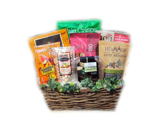 Healthy Father's Day Basket by Well Baskets