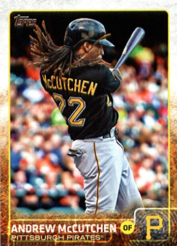 2015 Topps Baseball Card #400 Andrew McCutchen NM-MT