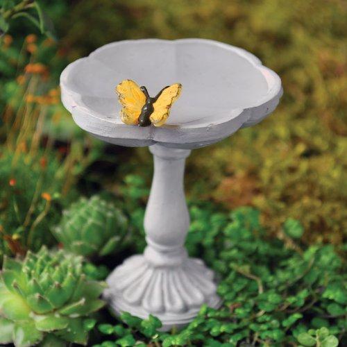 Fairy Garden Butterfly Birdbath (Bird Garden Fairy Bath)