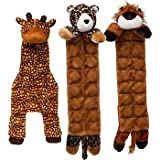 Petco Multi Squeaker Jungle Safari Plush Dog Toy, My Pet Supplies