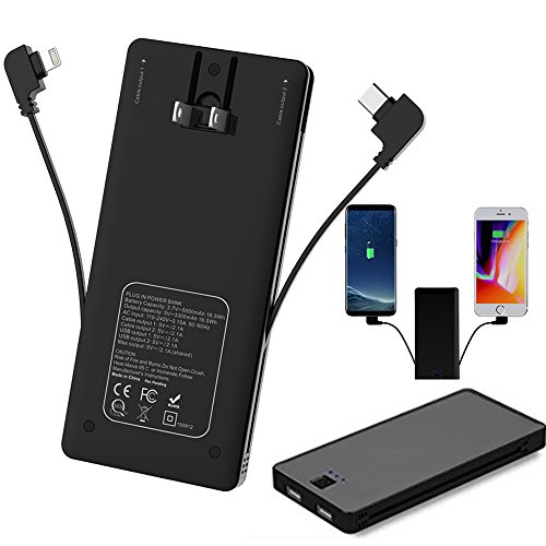 Power Bank With Lightning Connector - 1