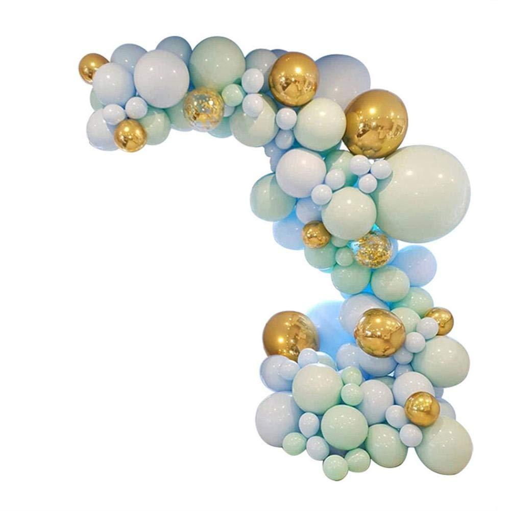 Makrone Ball Bogen Girlande Set Ball Girlande Farbe Sortiert Macaron Bonbonfarbenen Konfetti Latex Ballon Für Geburtstag Hochzeit Valentinstag Baby Shower Party Supplies Dekoration