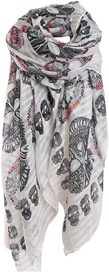 Acheter foulard echarpe bandana tete de mort online 8