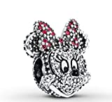 PANDORA DISNEY SPARKLING MINNIE PORTRAIT LIMITED EDITION CHARM