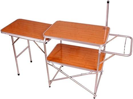 GWM Computer Armoires Mesa de camping al aire libre – Mesa ...