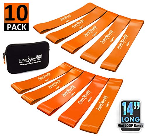 - Super Exercise Band 10 Pack 14